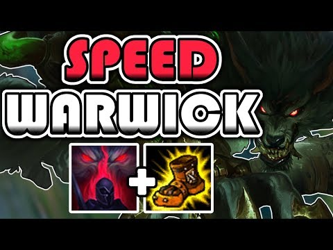 High Elo Warwick Jungle Full Gameplay Commentary - League of Legends [Season 7]