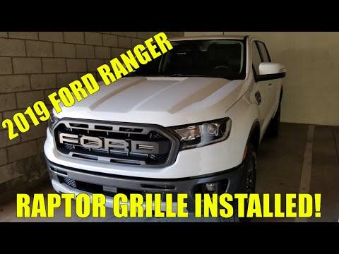 2019 Ford Ranger - Raptor Grille Install!
