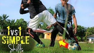 5 Cara MUDAH Melewati Lawan 1vs1 !! Easy Football & Futsal Skills