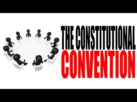 a discussion of the constitutional convention in the united states Corporate america is just 6 states short of a constitutional convention  for the united states a constitutional convention is an  our discussion here, let me.