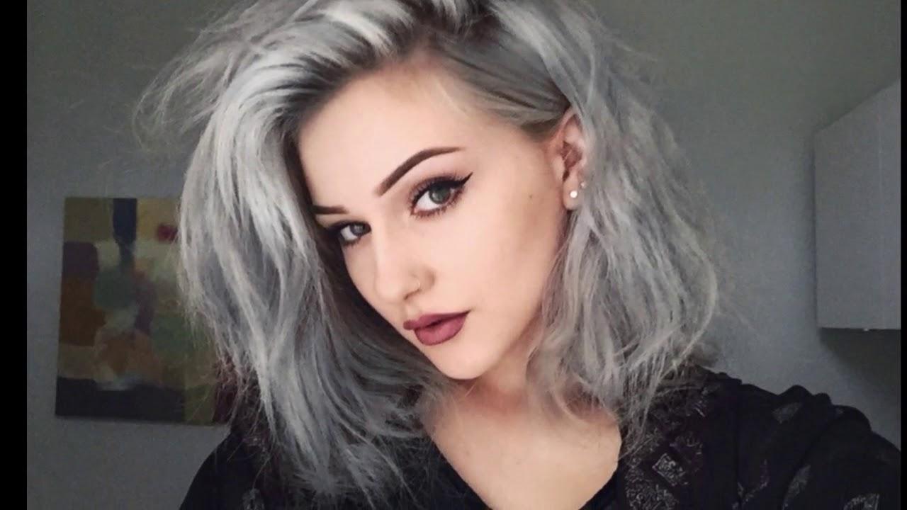 erste graue haare färben