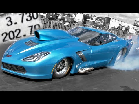 903 Cubic Inch C7 Pro Nitrous Corvette Qualifies #1 First Time Out!