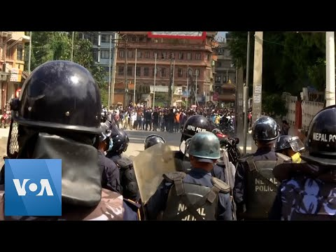 Police Clash With Festival Observers in Nepal