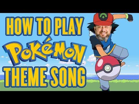 Pokemon Theme Song - Guitar Lesson