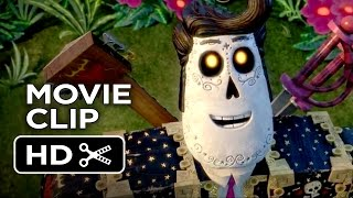The Book of Life Movie CLIP - Land of the Remembered (2014) - Diego Luna Animated Movie HD