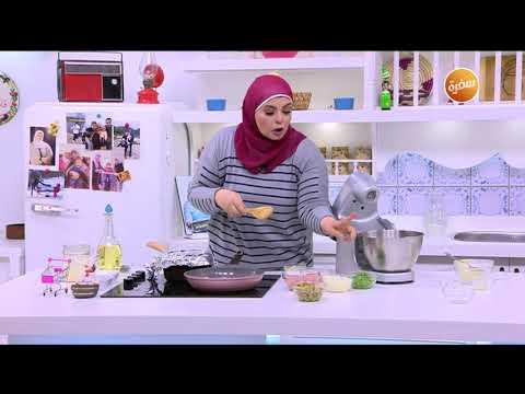 صورة  طريقة عمل البيتزا طريقة تحضير بيتزا دجاج | نجلاء الشرشابي طريقة عمل البيتزا بالفراخ من يوتيوب