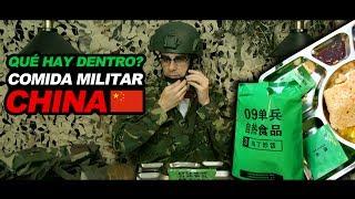 Probando Comida Militar China - Qué Hay Dentro? (MRE China)