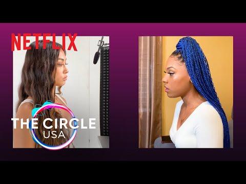 The Circle Season 2   The Circle Unfiltered: Terilisha and Savannah   Netflix