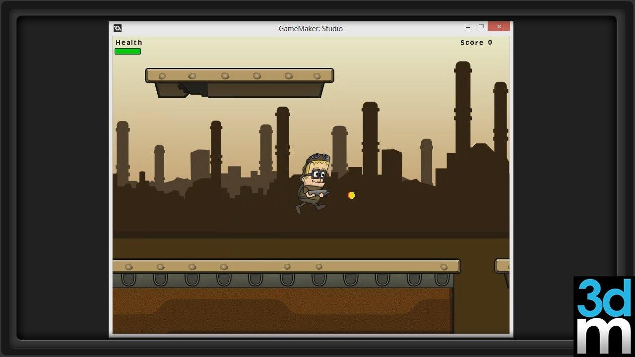 Side scrolling platformer in gamemaker studio pt 1 3dm for 2d blueprint maker