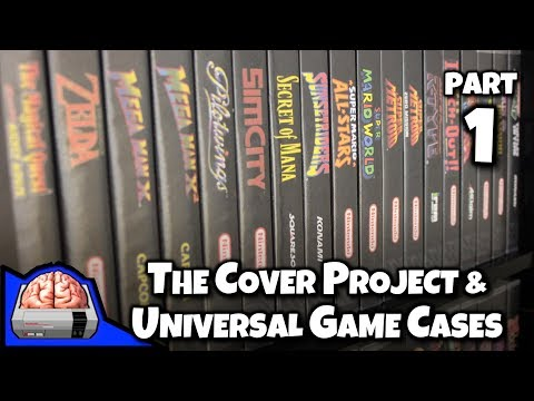 The Cover Project and Universal Game Cases for Retro NES SNES N64 GBA Games