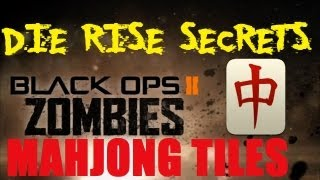 Die Rise: Complete Mahjong Tile Guide - Required to Complete BOTH Easter Eggs (Richtofen & Maxis)