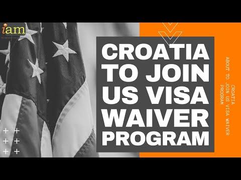 Croatia To Join US Visa Waiver Program