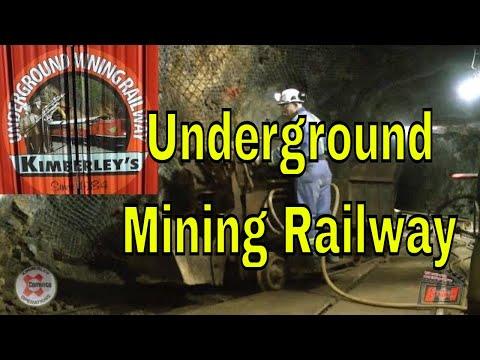 Kimberley Underground Mining Railway - Kimblerley, BC