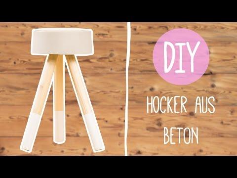 wohnen mit beton diy hocker aus beton funnycat tv. Black Bedroom Furniture Sets. Home Design Ideas
