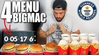 GRAND BIG Mac Challenge !! LOSER gets DISGUSTING drink