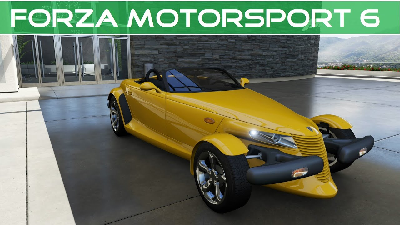 Forza Motorsport 6 2000 Plymouth Prowler Ebay Motors