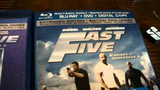 Fast Five Blu Ray Wal Mart Canada Exclusive