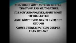 Deeper Than My Love---Josh Turner---LYRICS ON SCREEN
