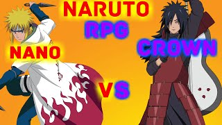 ROBLOX Naruto RPG - CrownOfLife (Iron Daimyo) Vs Nano