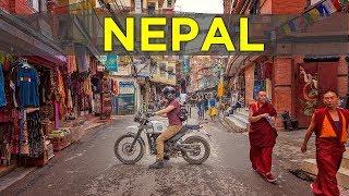 Riding in Kathmandu is INSANE! | HISTORIC THAMAL