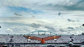 "(HD) Amazing Koreo 4D BRIGATA CURVA SUD ""SUPER ELJA"" 4D Pertama di INDONESIA. PSS vs Persipura 2x"