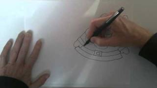 How to draw a Santa Clause and Sled