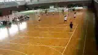 20080614新人戦、男子・○福岡大学β(48-8)九州共立大学×