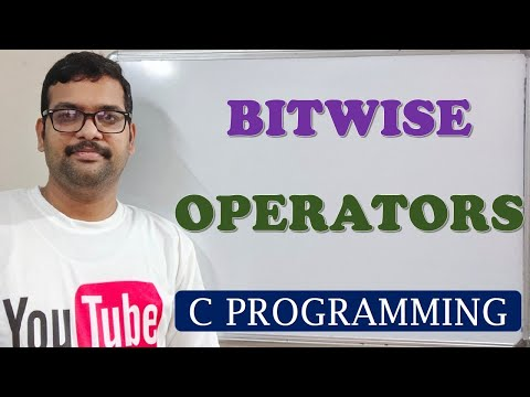 C PROGRAMMING - BITWISE OPERATORS