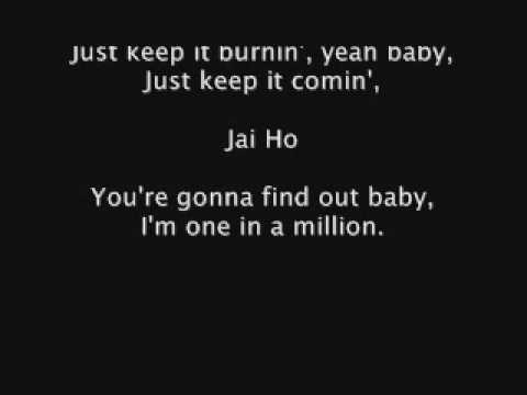 AR Rahman And The Pussycat Dolls Feat Nicole Scherzinger  Jai Ho lyrics