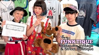 1980s & 1990s Fashion in Tokyo at Funktique Harajuku