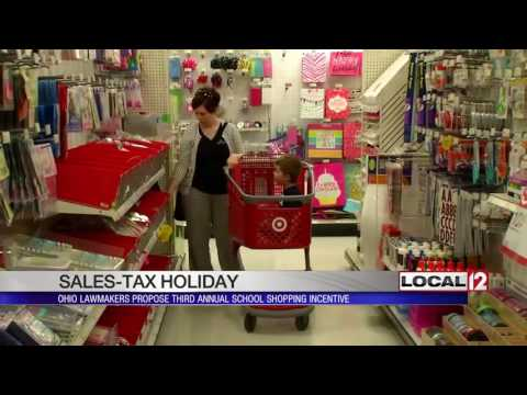 Ohio lawmakers want third year of back-to-school sales tax holiday