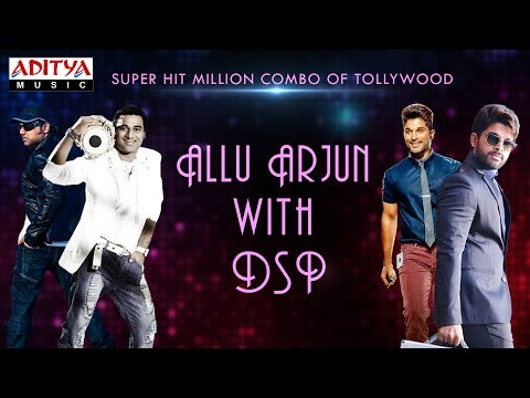 Super Hit Million Combo Of Tollywood - Allu Arjun with DSP || Telugu Songs Jukebox