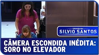 Câmera Escondida: Soro no elevador