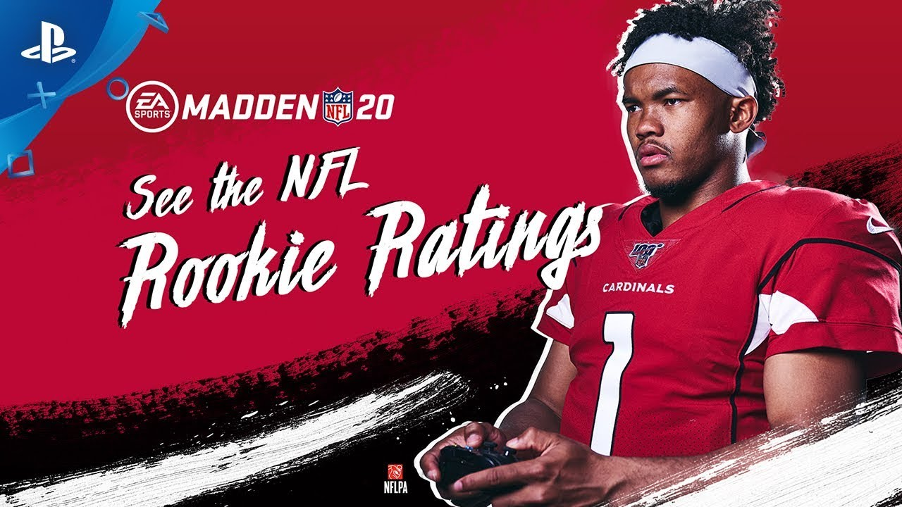 Madden Nfl 20 Nfl Rookies React To Madden 20 Ratings Ft Kyler Murray Ps4