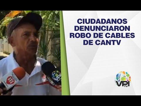 Guárico - Ciudadanos Denunciaron Robo De Cables De Cantv - VPItv