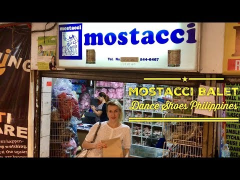 Mostacci Ballet Dance Shoes and Clothing Makati Square Metro Manila Philippines