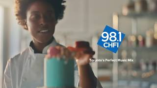 98.1 CHFI: When your song comes on at work- Bakery