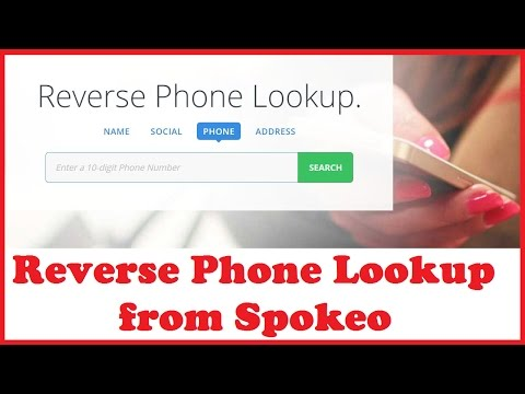 Reverse Phone Lookup from Spokeo
