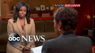 Michelle Obama opens up in an exclusive interview with Robin Roberts