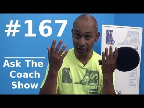 Ask the Coach Show #167 - Anti Spin Rubber