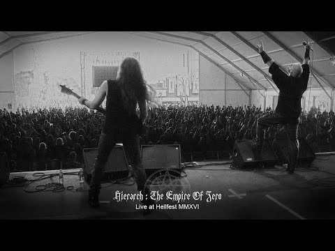 Hegemon live at Hellfest 2016 - Hierarch: The Empire of Zero