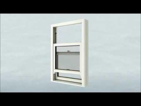 Aluminium Clad Vertical Sliding Sash Windows Uk Youtube