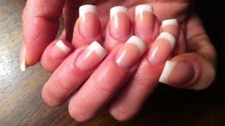 Gel nails correction (French), Коррекция гелевых ногтей (Фрэнч)