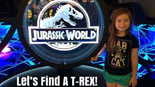 Epic Virtual Reality Jurassic World Game At Dave And Busters! Philadelphia Mills Location!