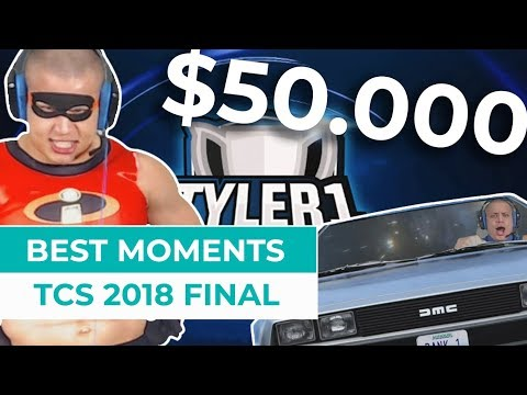 TCS 2018 Finals: Best Moments | Best of Tyler1 Championship Series 2018 Final Day