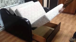 видео Как разобрать диван аккордеон для перевозки