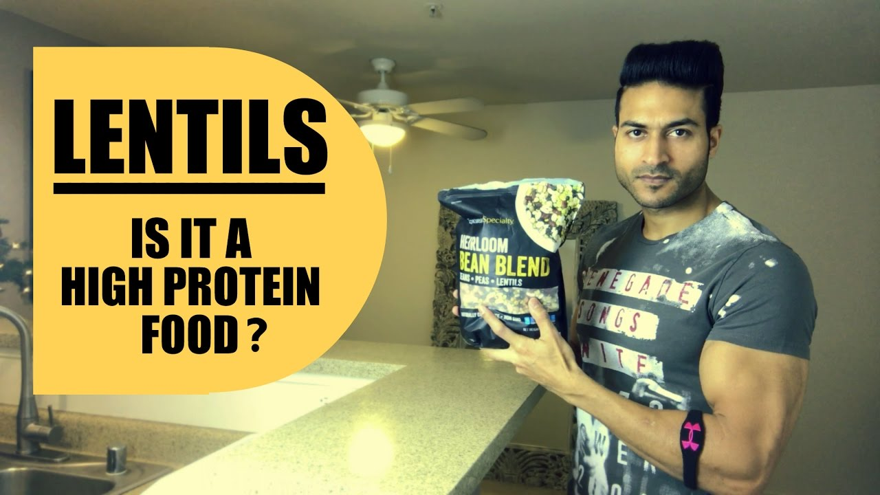 LENTILS -  Is it a really High Protein Food? Brief Explanation by Guru Mann
