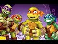 Teenage Mutant Ninja Turtles Half-Shell Heroes - Funny Cartoon Movie Games New Episodes TMNT 2017 HD