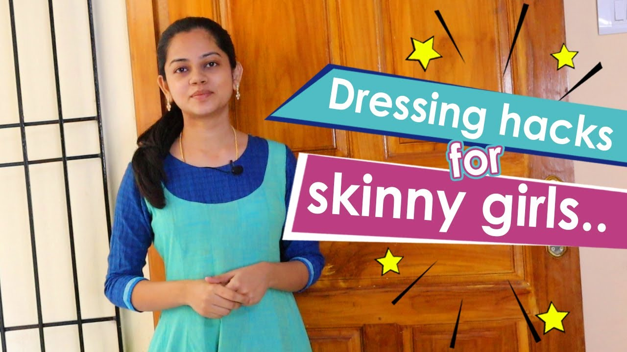How To Look Chubby - Thin Girls Dressing Tips | Anithasampath Vlogs