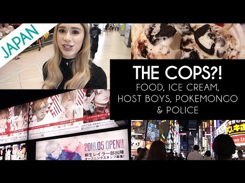 A RUN IN WITH THE COPS IN JAPAN?!